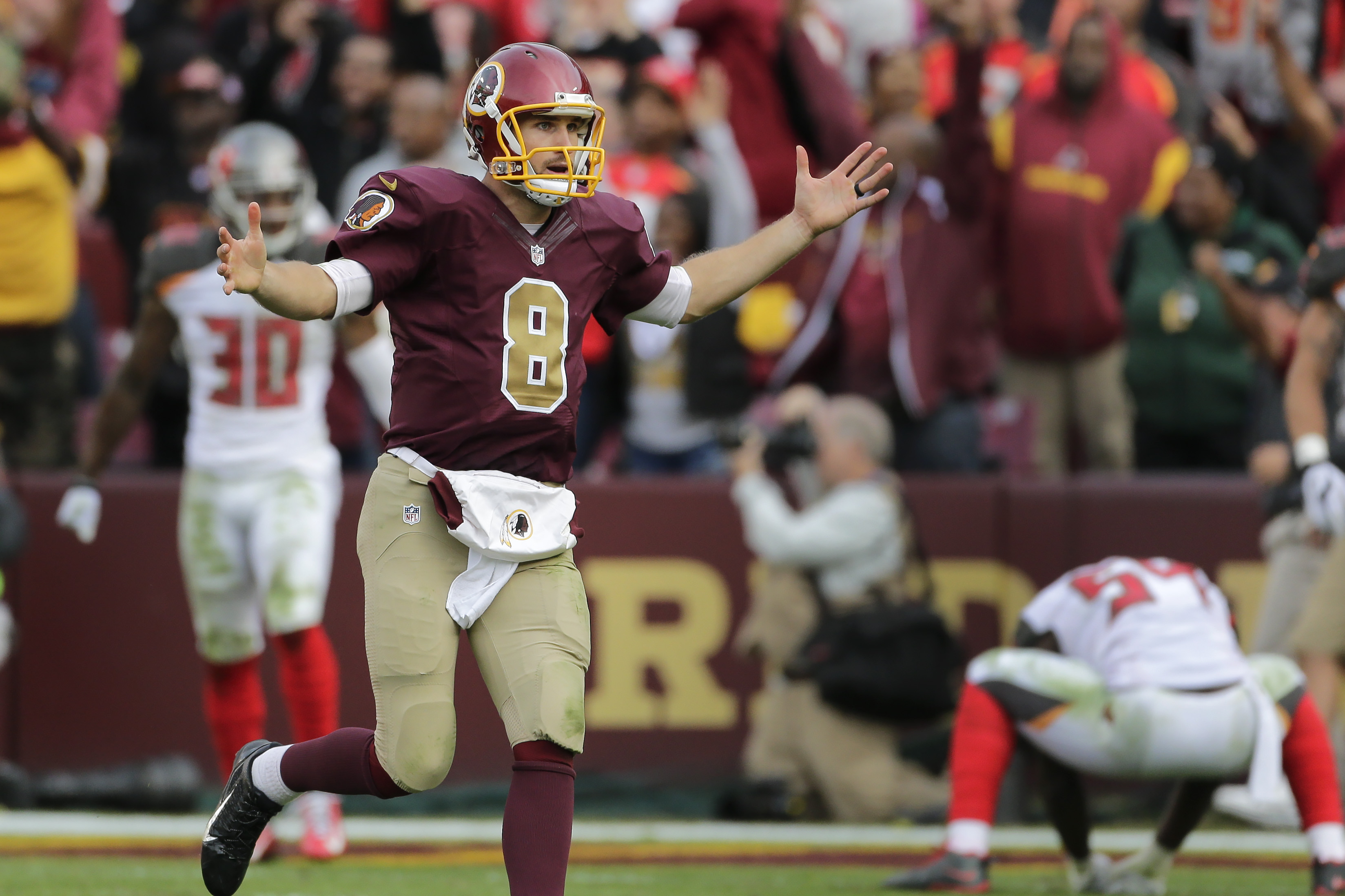 After a stirring win, there's reason for the Redskins — and fans — to hope