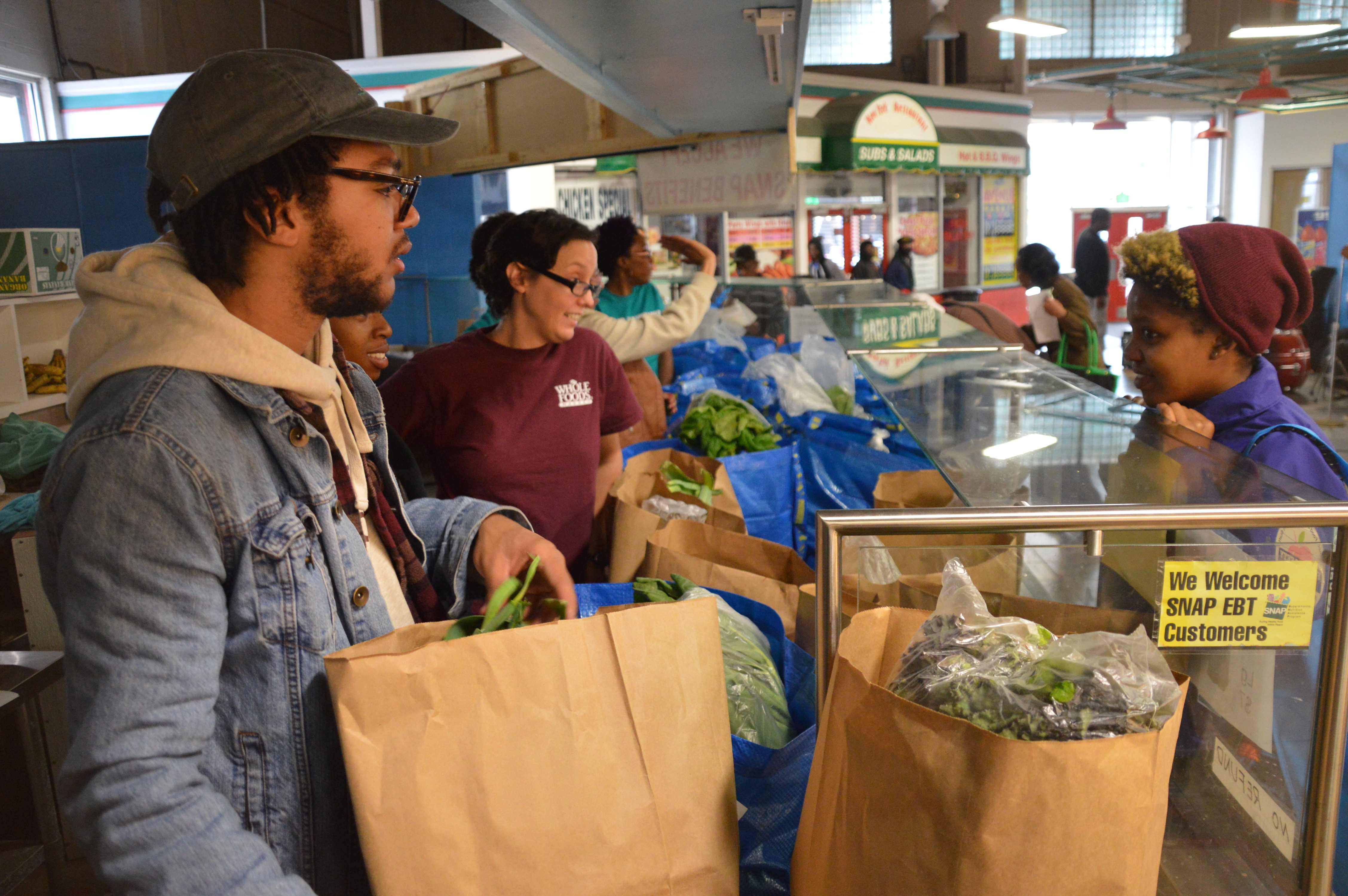 Fresh Beets pop-up tackles food access in West Baltimore one bag at a time