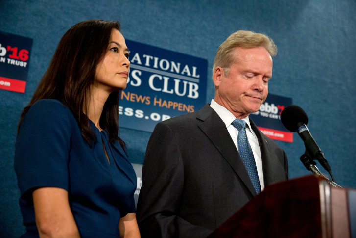 Jim Webb may re-enter presidential race as independent