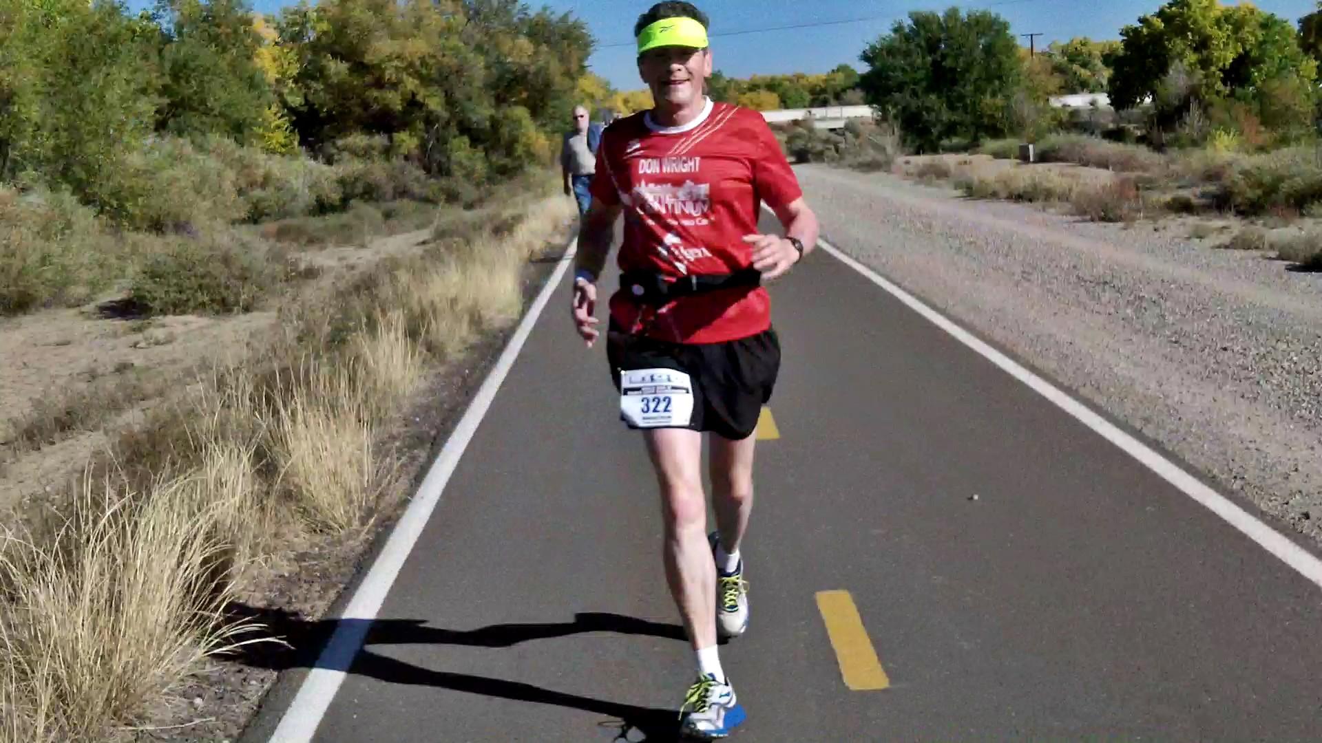 Fighting cancer, man to run 90th marathon