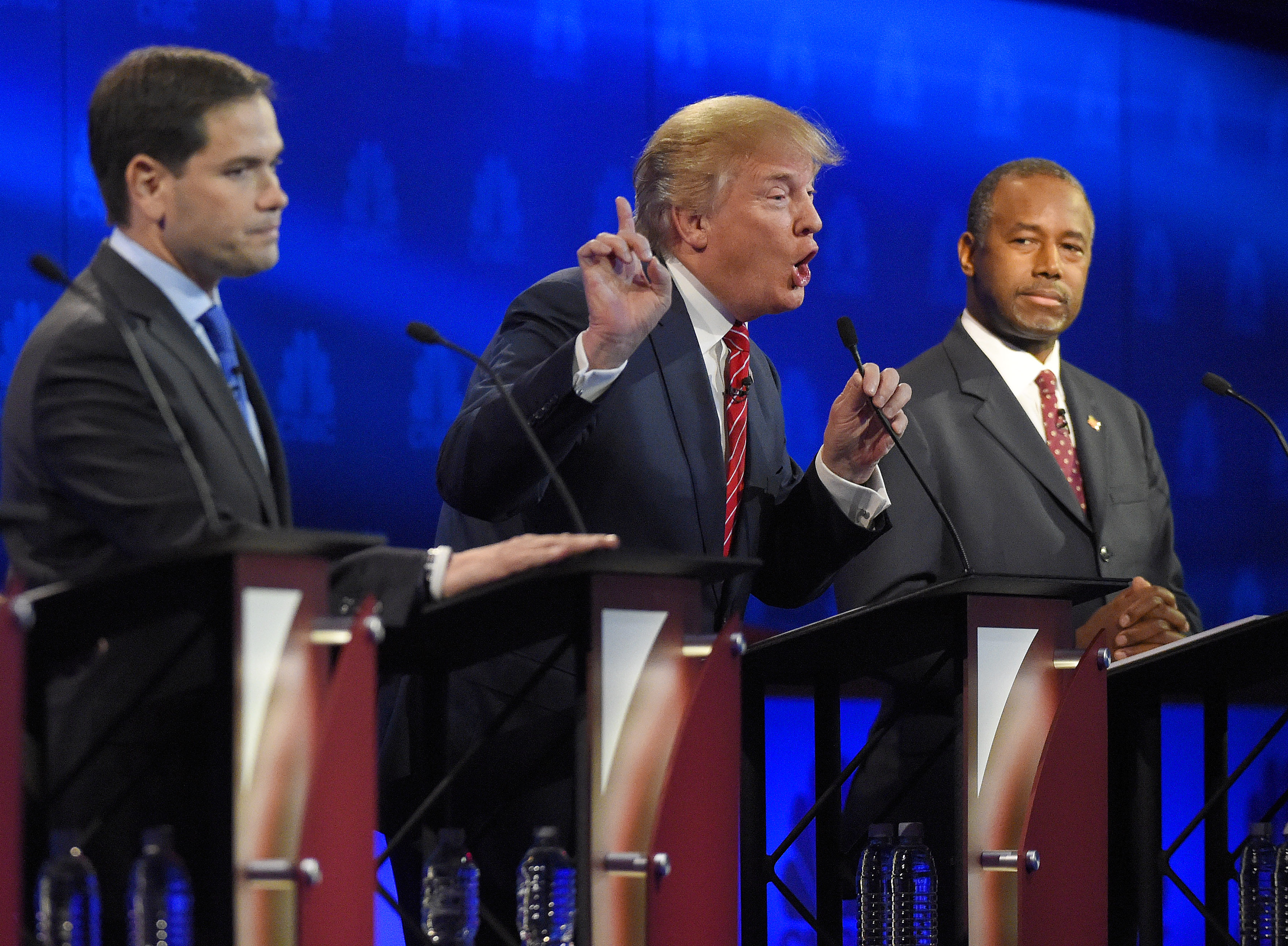 Republican presidential candidates face off in third debate (Photos)