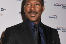 WASHINGTON, DC- OCTOBER 18:  Honoree Eddie Murphy poses on the red carpet during the 18th Annual Mark Twain Prize For Humor at The John F. Kennedy Center for Performing Arts on October 18, 2015 in Washington, DC.   (Photo by Kris Connor/Getty Images)