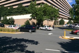 Fairfax County police says they were not aware of the drill and didn't know which company was holding it. Neither Arlington County police nor the FBI Washington Field Office were aware of the drill either, both agencies told WTOP. (WTOP/Mike Murillo)