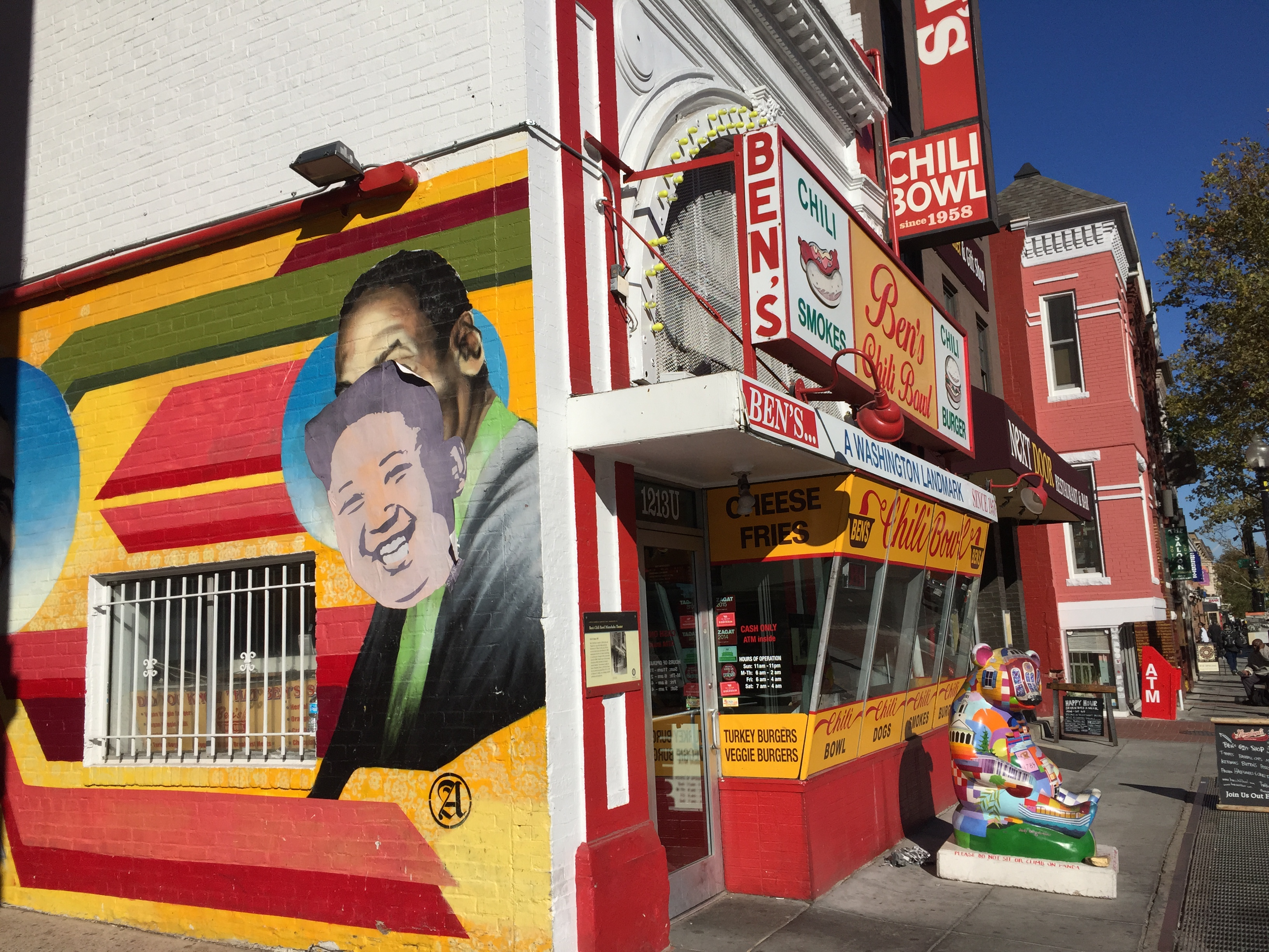 Ben's Chili Bowl's Bill Cosby mural defaced
