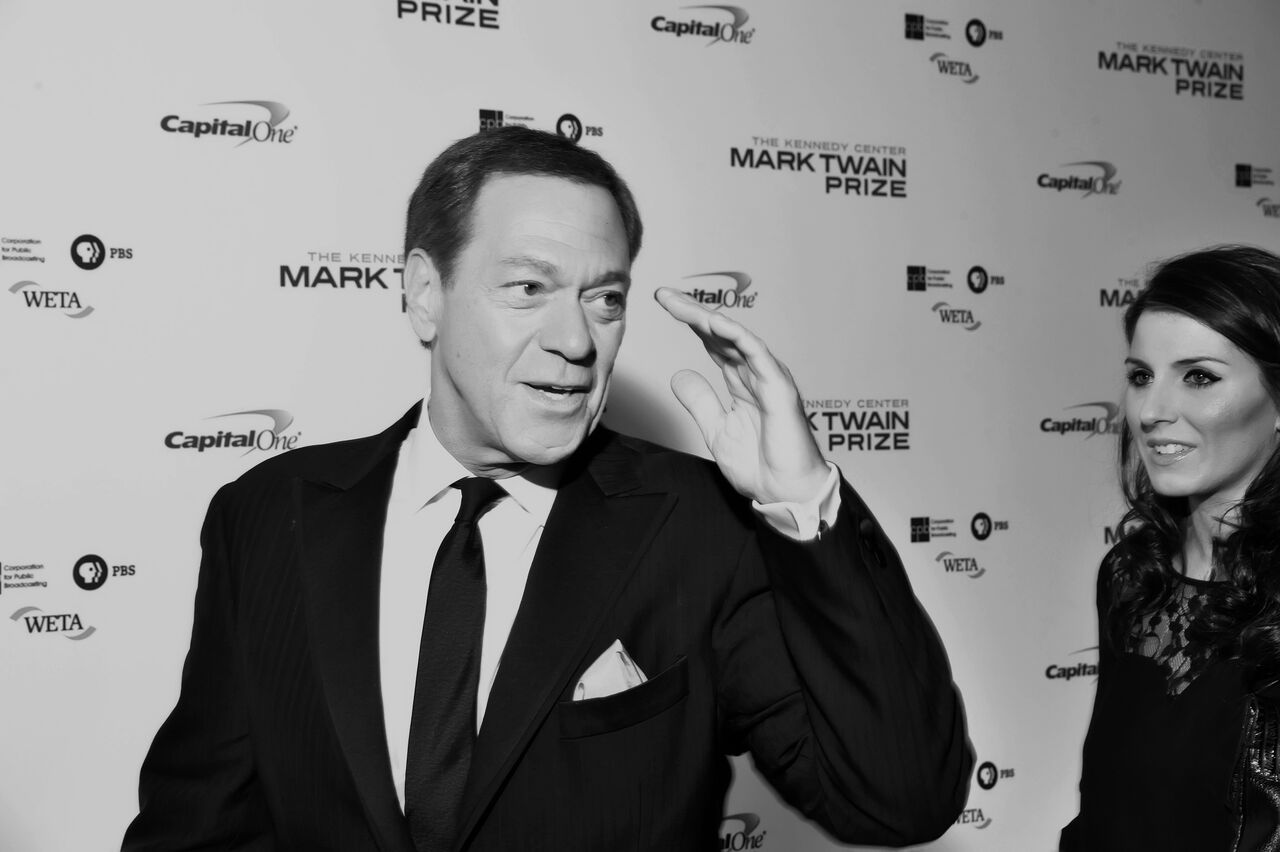 Joe Piscopo is seen here at the Kennedy Center of Performing Arts on Oct. 18, 2015 to honor Eddie Murphy.  (Courtesy Shannon Finney, www.shannonfinneyphotography.com)