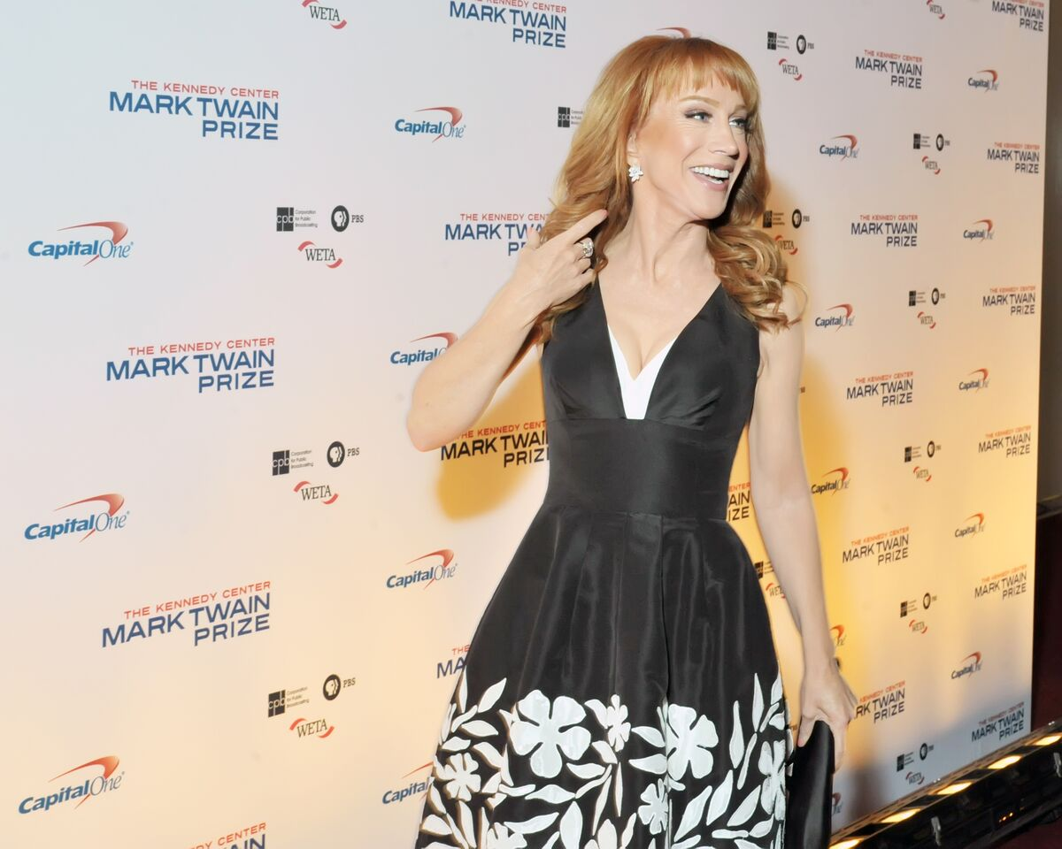 Kathy Griffin is seen here on the red carpet at the Kennedy Center for the Performing Arts as Eddie Murphy was honored on Oct. 18, 2015. (Courtesy Shannon Finney, www.shannonfinneyphotography.com)