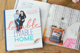 """In the new book """"Lovable Livable Home,"""" Sherry and her husband John Petersik offer simple DIY solutions to everyday dilemmas — from choosing chic, yet kid friendly furniture, to creating a useful entryway space. (Excerpted from Lovable Livable Home by Sherry Petersik and John Petersik, Artisan Books. Copyright (c) 2015. Photographs by Nick Wills.)"""