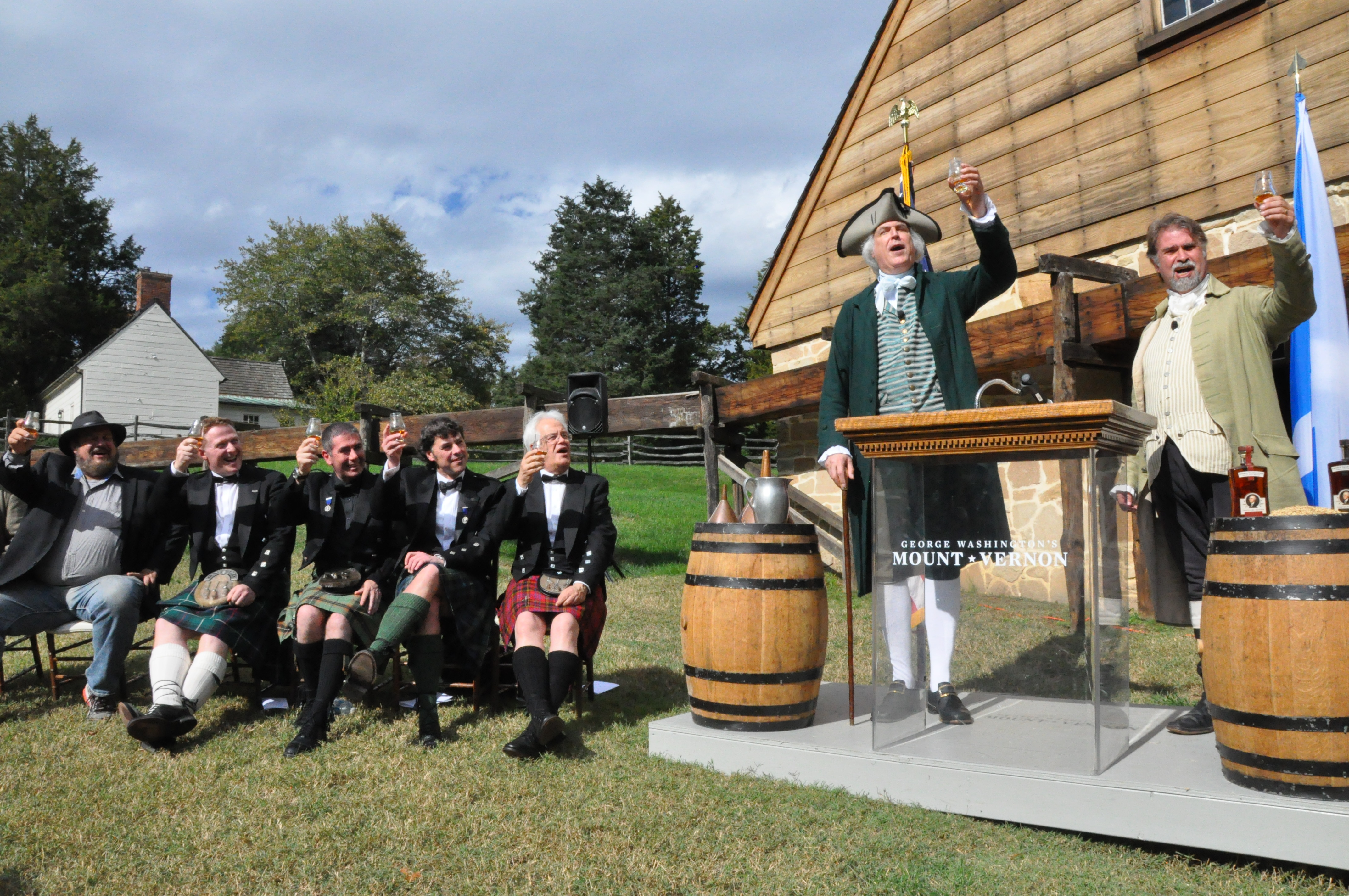 Mount Vernon unveils rare whisky collaboration with Scotland's best distillers