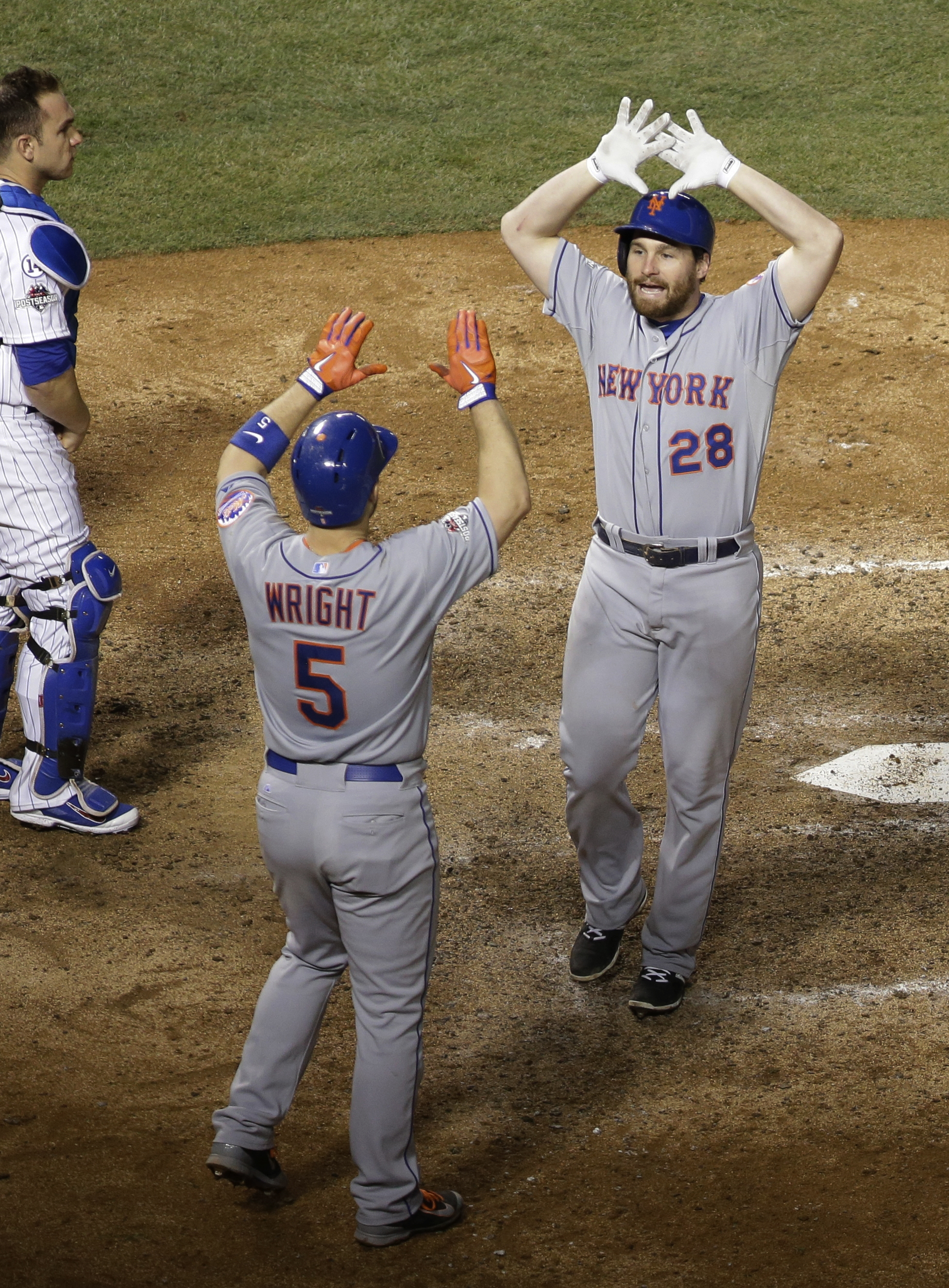 New York Mets advance to World Series (Photos)