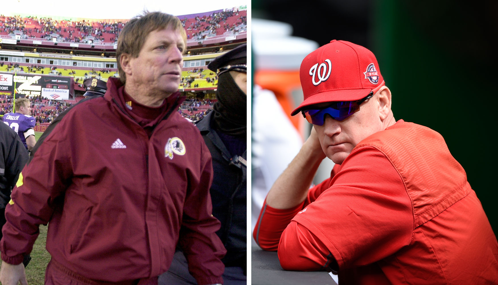 More disappointing: 2000 Redskins or 2015 Nationals?