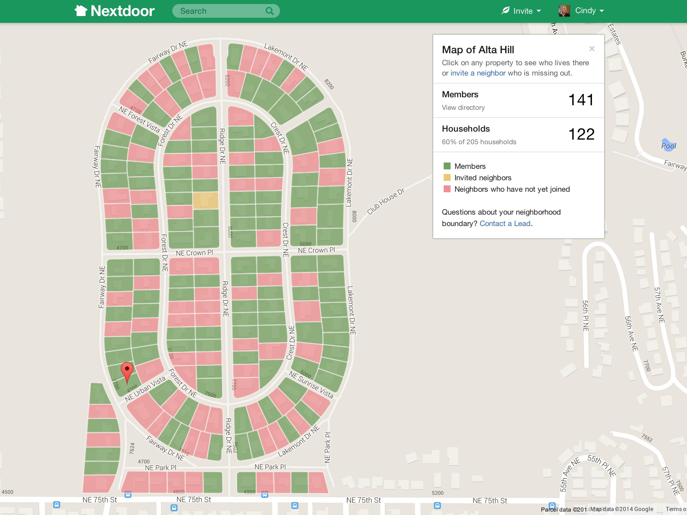 Nextdoor app spurs contact with 'in real life' neighbors