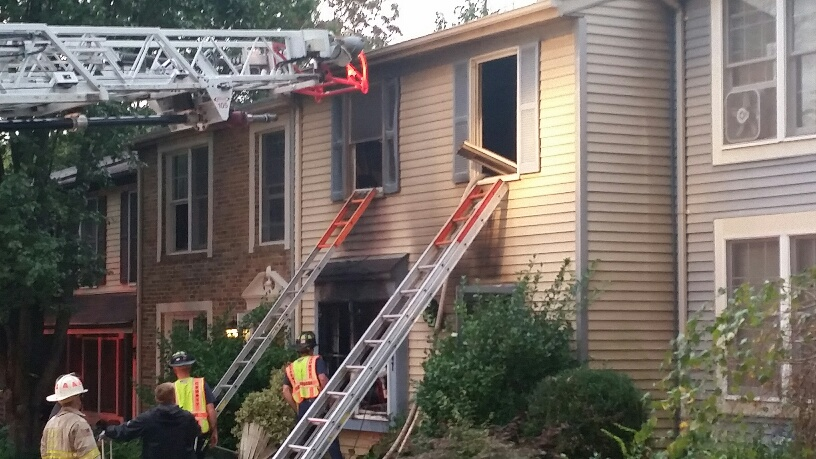 Reston couple recovering well after house fire
