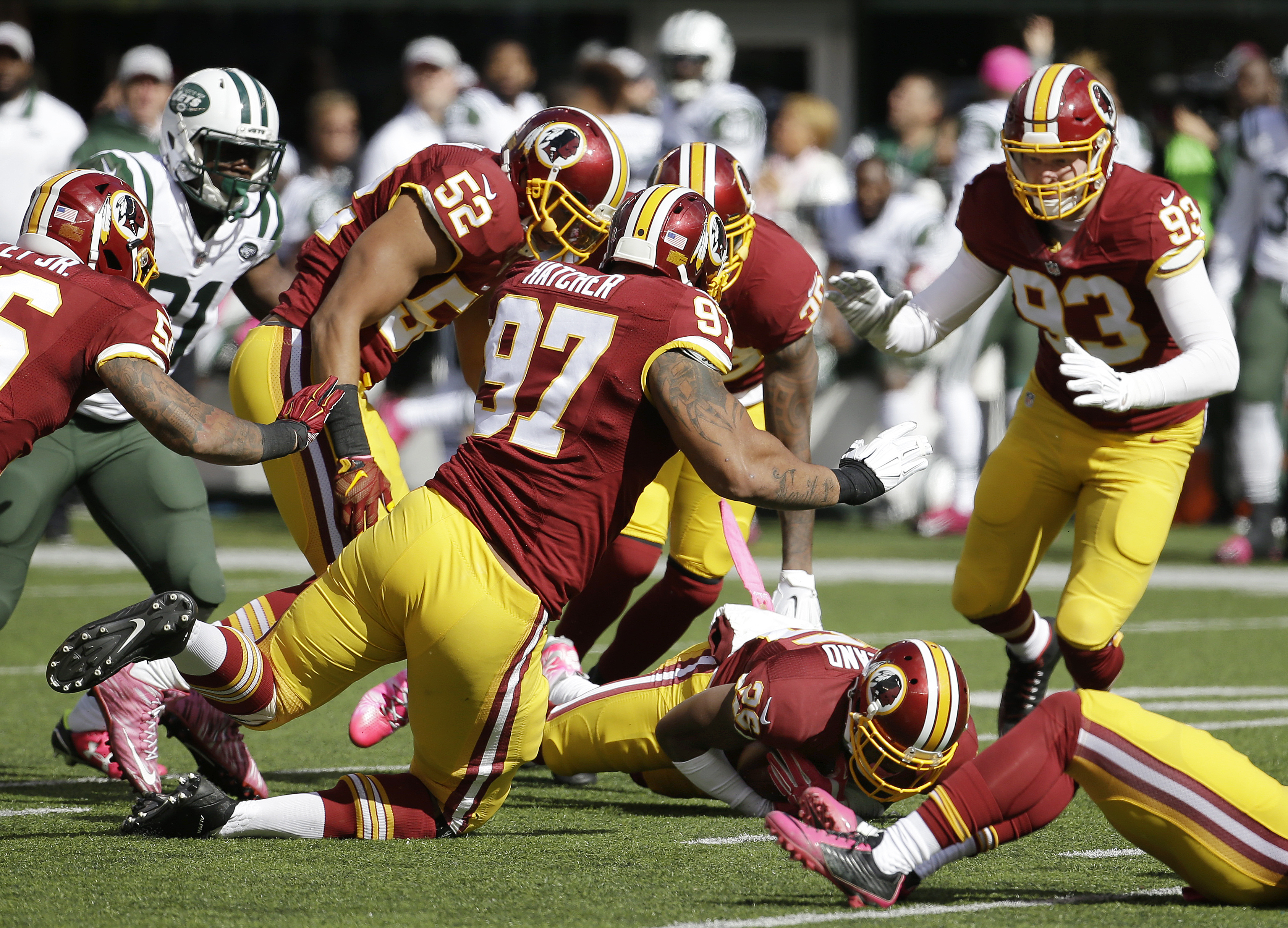Where the Redskins have slipped: the trenches