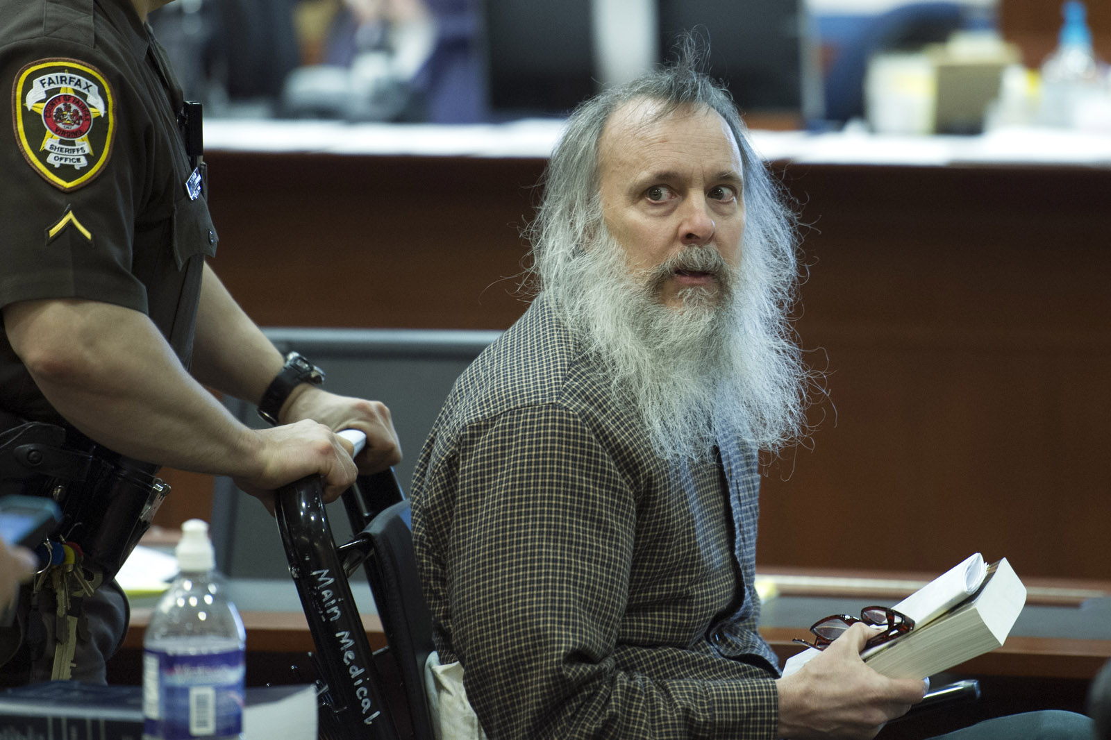 Writings of accused Alexandria killer read to jury