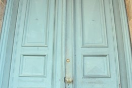 Behind these doors, Shocktober begins. (Courtesy Shannon Finney, www.shannonfinneyphotography.com)