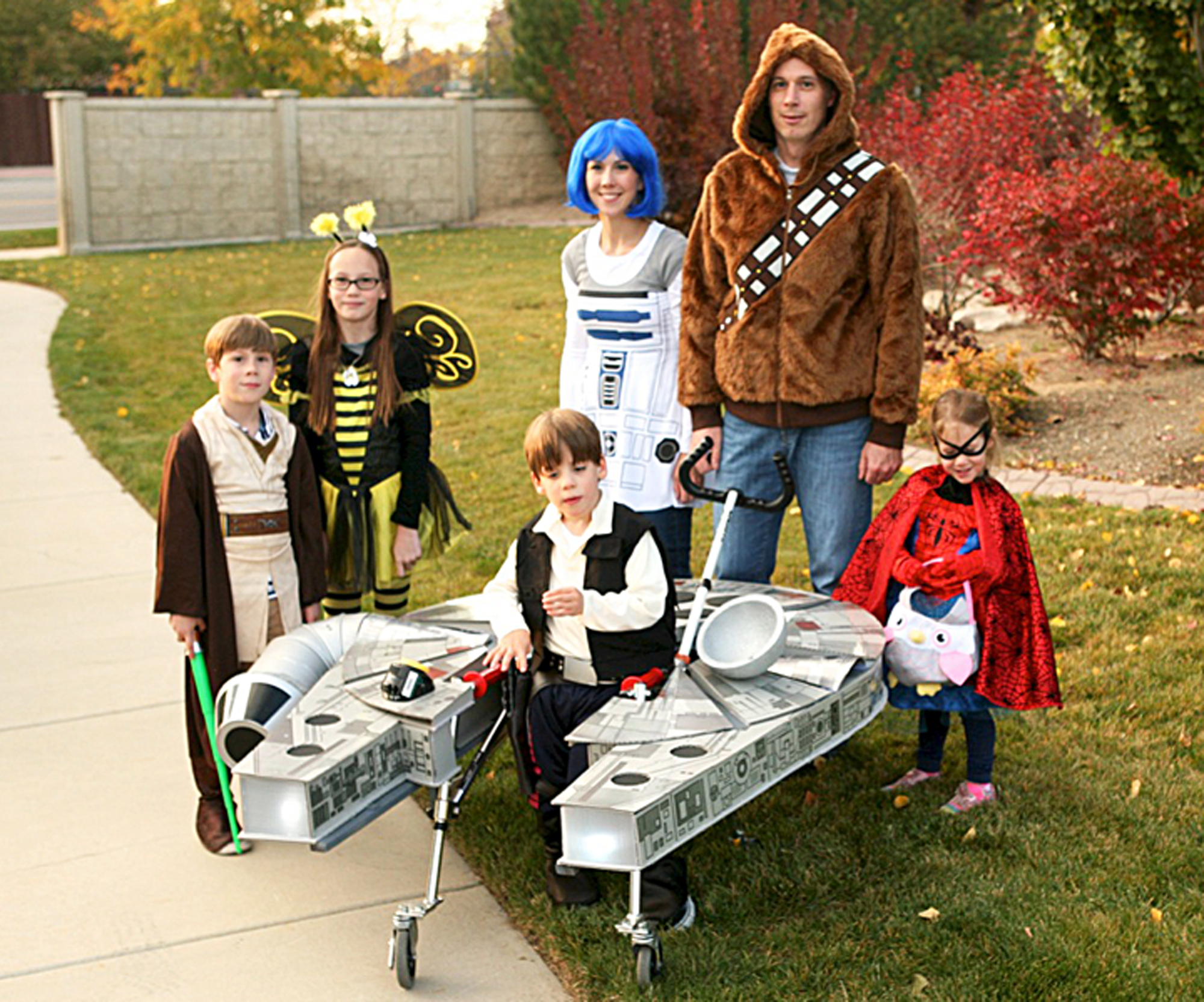 family builds star wars costume for son with cerebral palsy wtop - Utah Halloween Stores