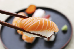 FILE -- Today, you can routinely find Burgundy wines on wine lists at many fine dining sushi restaurants. And when you do, you'll have a sushi chef in Maryland  to thank for it. (Getty Images/iStockphoto/kityowong)