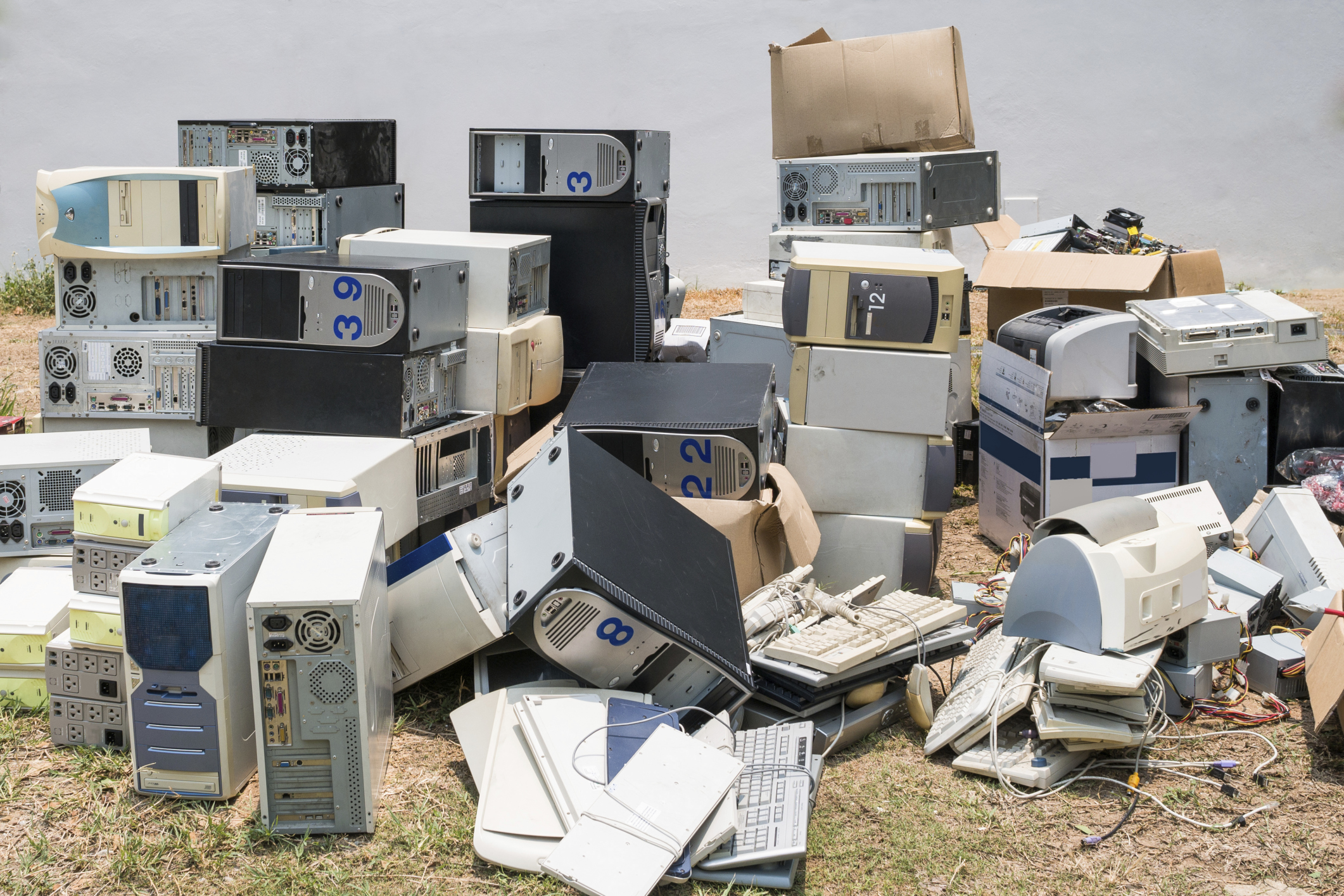 Discarding e-waste: Is your company security at risk?