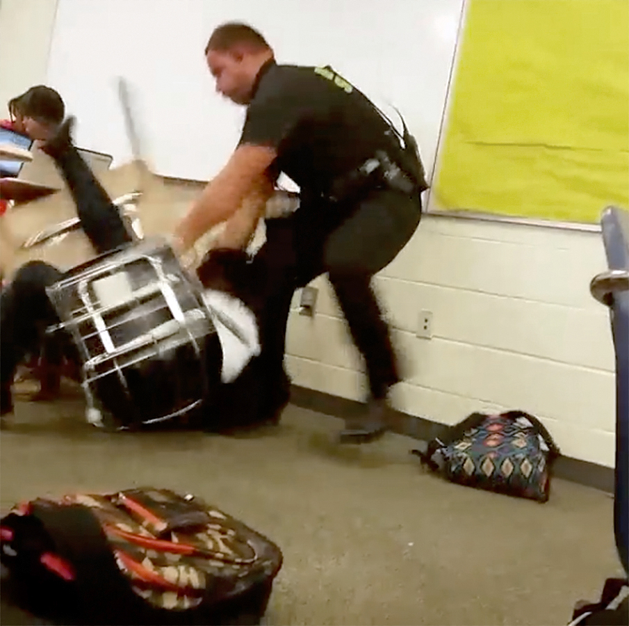 Md. police officer shares take on how cops in schools should work