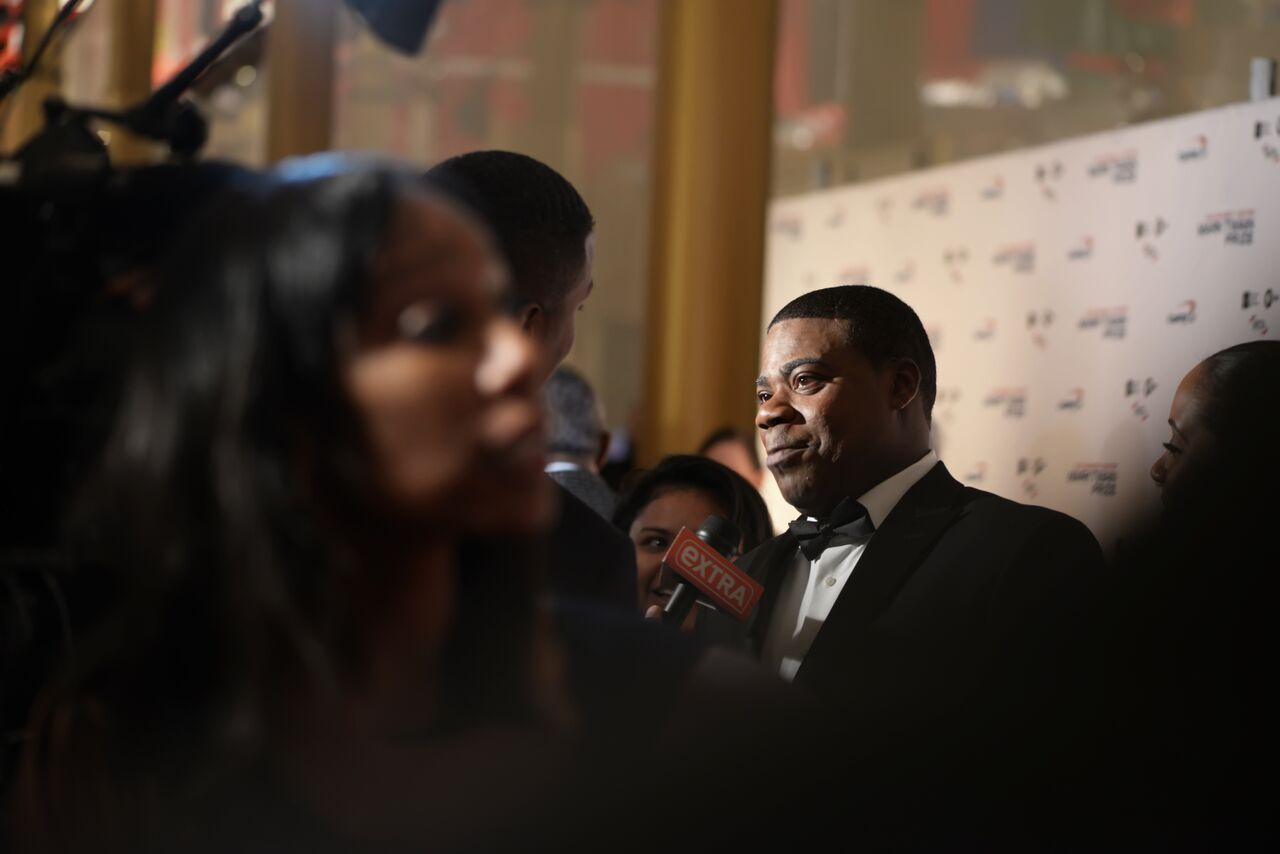 Here, Tracy Morgan speaks to reporters on the red carpet at the Kennedy Center for Performing Arts. (Courtesy Shannon Finney, www.shannonfinneyphotography.com)
