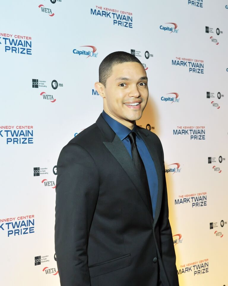 """Trevor Noah, host of Comedy Central's """"The Daily Show,"""" is seen here at the Kennedy Center for the Performing Arts.  (Courtesy Shannon Finney, www.shannonfinneyphotography.com)"""