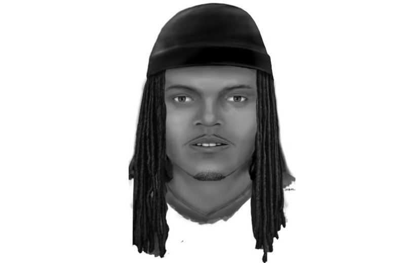 Composite sketch shows suspect in Md. shooting