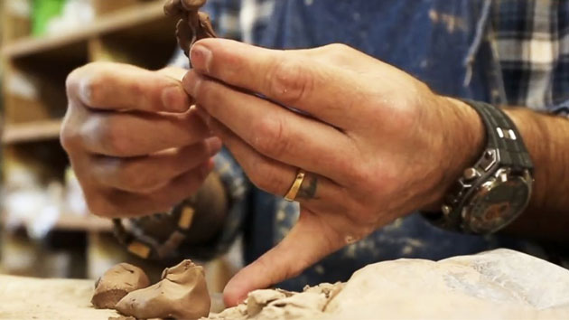Army veteran finds peace in ceramics after multiple head injuries