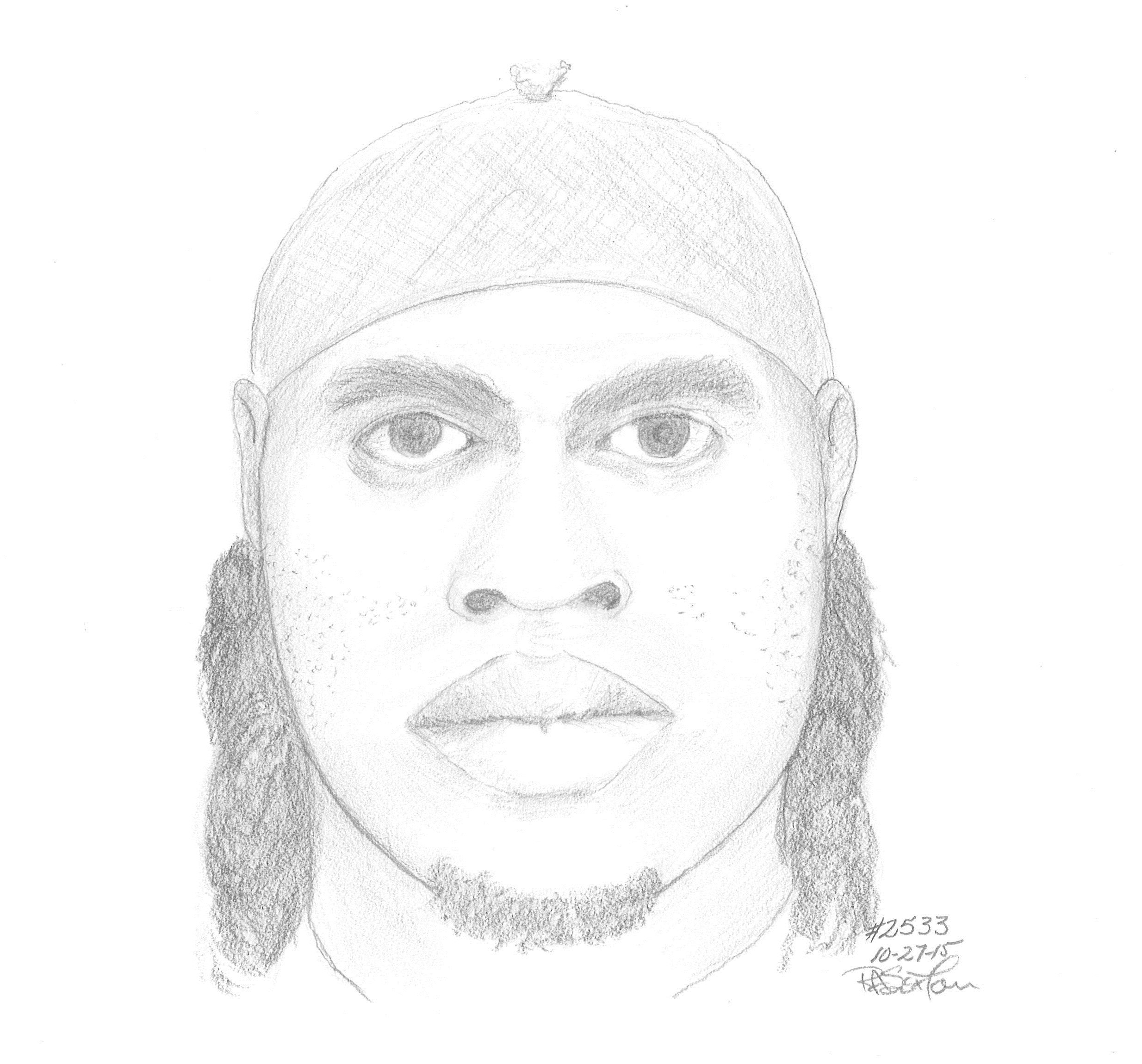Police release sketch of Alexandria attempted rape suspect