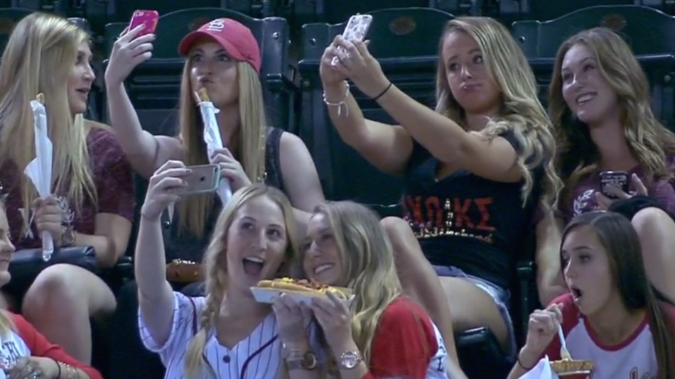 Sorority sisters use internet selfie fame for good