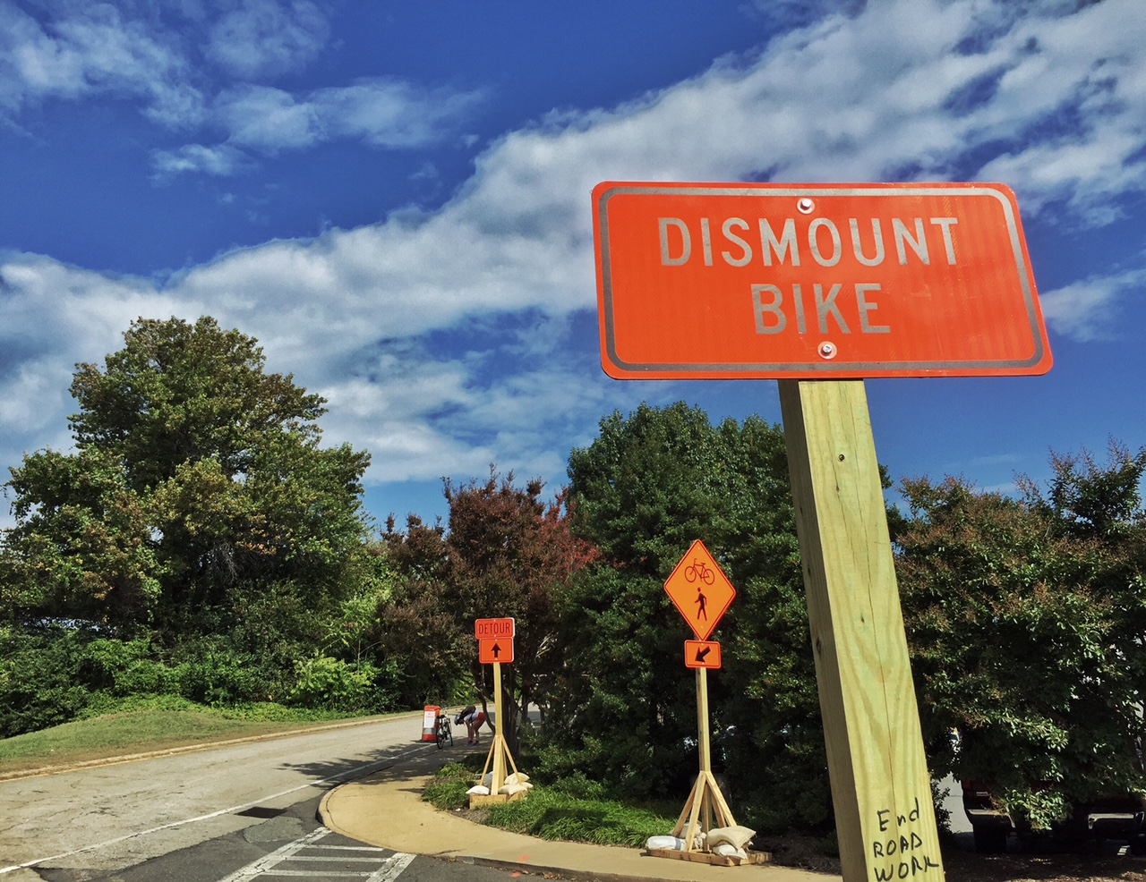 Cyclists take wait-and-see approach to trail improvements