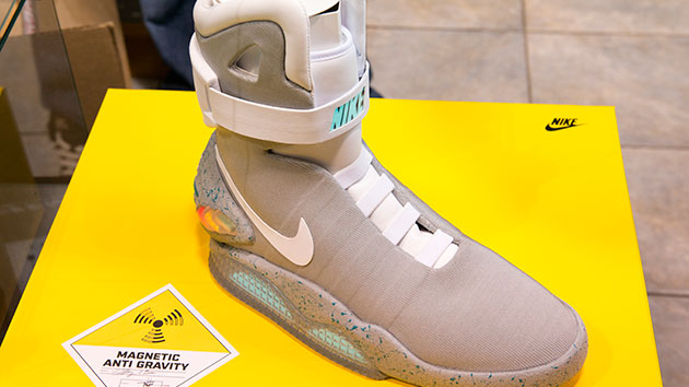Nike says  Back to the Future  self-tying shoes are here  ee98de3c7