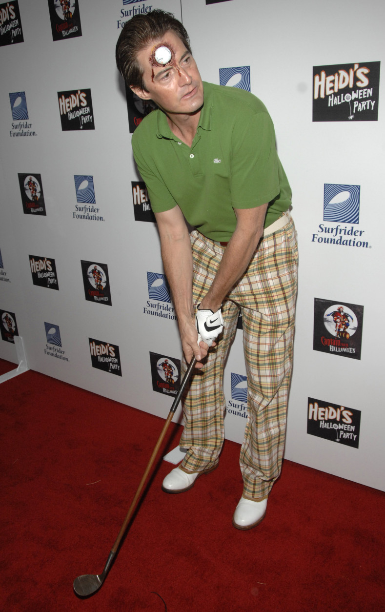 """Actor Kyle MacLachlan poses on the press line at """"Heidi's Halloween Party"""" in Los Angeles on Wednesday, Oct. 31, 2007. (AP Photo/Dan Steinberg)"""