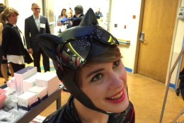 Catwoman is a regular at the Hope for Henry Superhero Extravaganza. (WTOP/Kristi King)