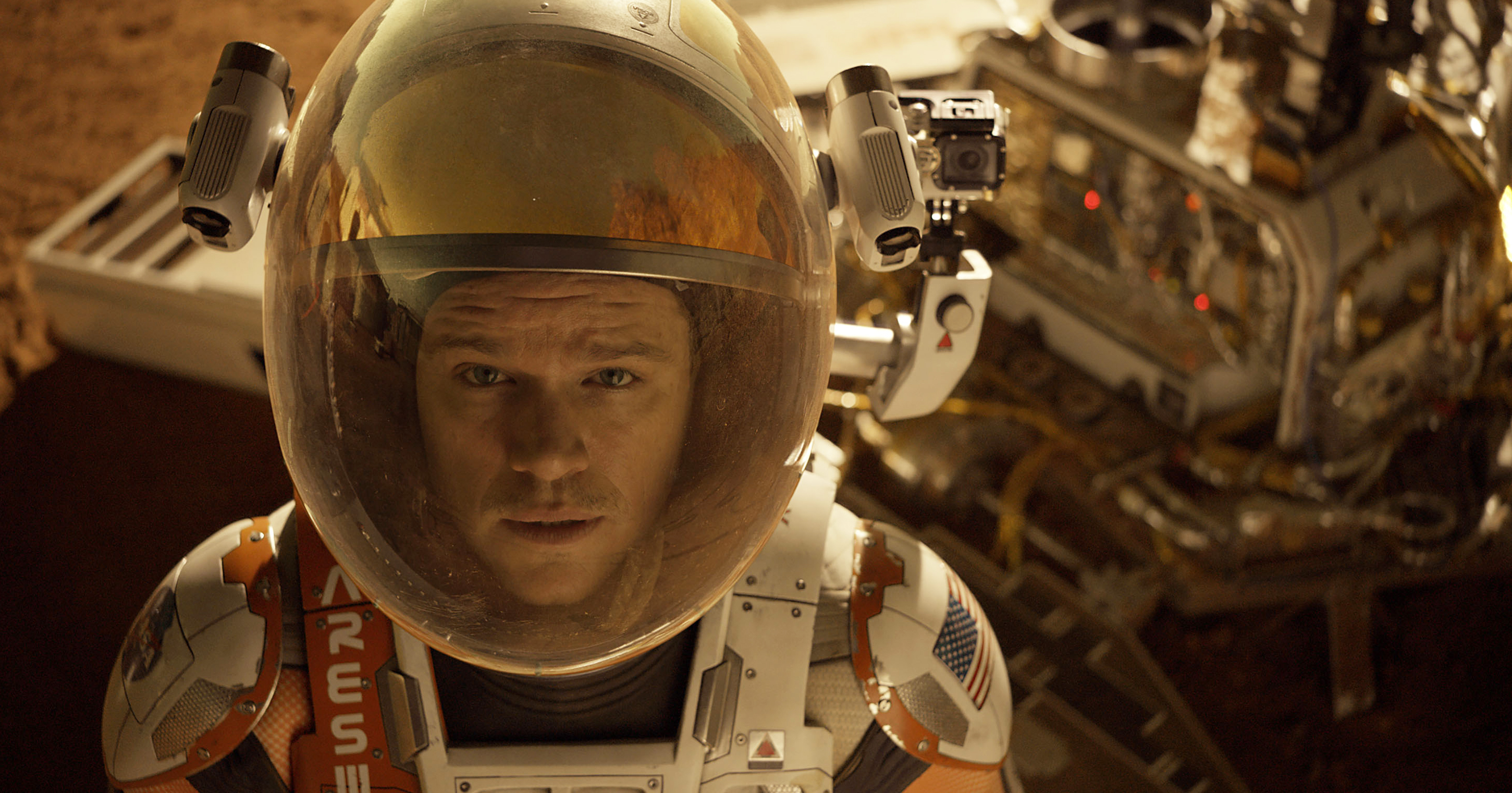 Saving Astronaut Damon: Ridley Scott's 'The Martian' is rousing space adventure