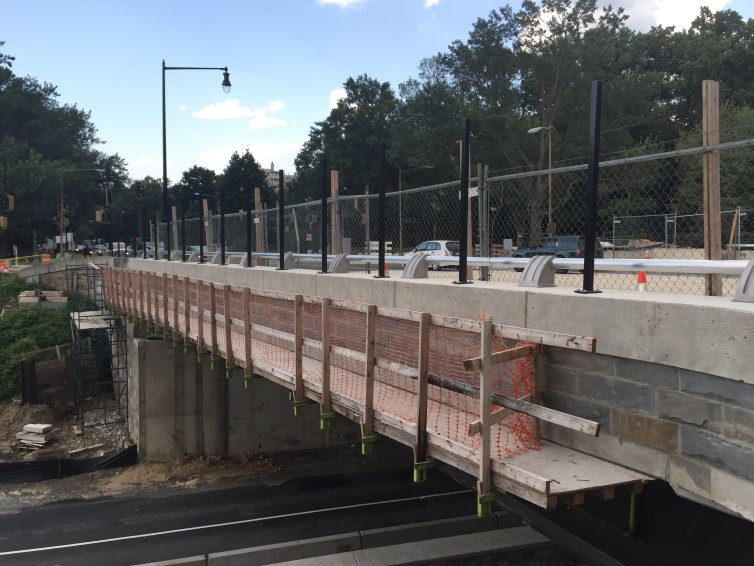 Partial lane closures begin on Military Road NW