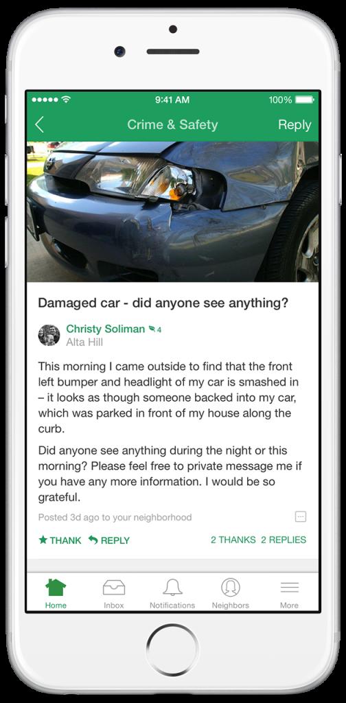 Nextdoor app spurs contact with 'in real life' neighbors | WTOP