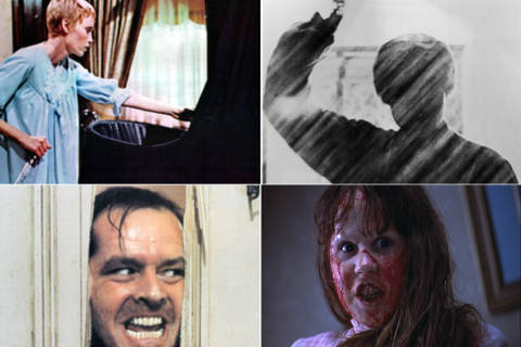 Top 50 scary movies of all time