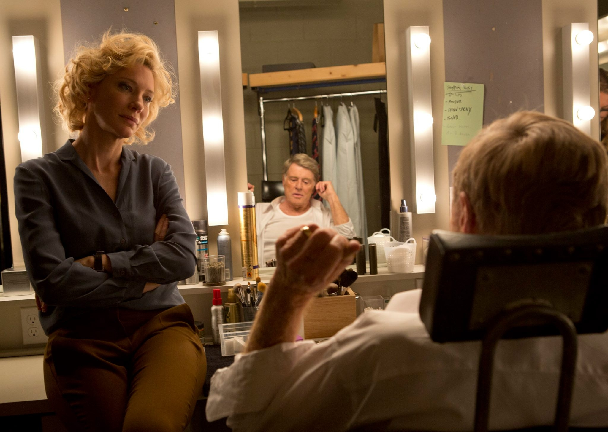 Redford, Blanchett tackle Dan Rather's fall from grace in 'Truth'