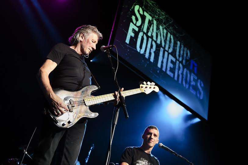 Pink Floyd frontman Roger Waters jams with wounded vets in DC