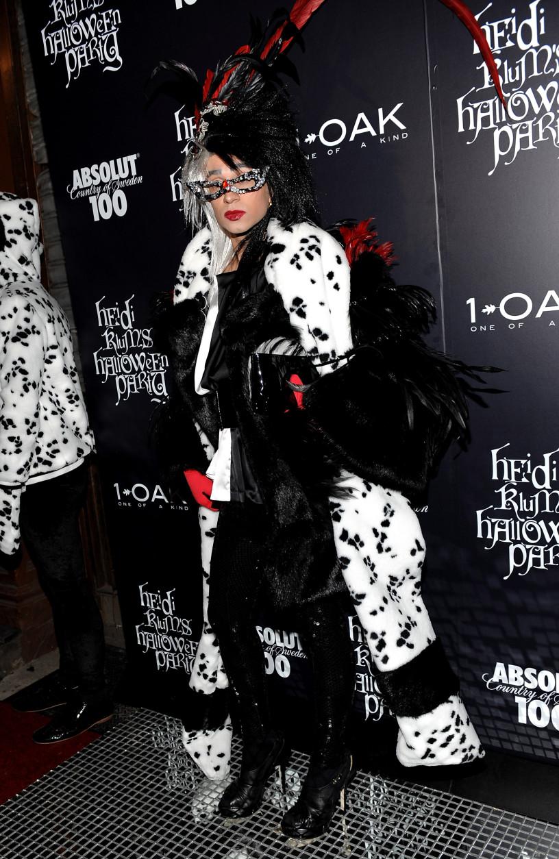 Fashion designer Christian Siriano attends Heidi Klum's annual Halloween party at 1Oak on Friday, Oct. 31, 2008 in New York. (AP Photo/Evan Agostini)
