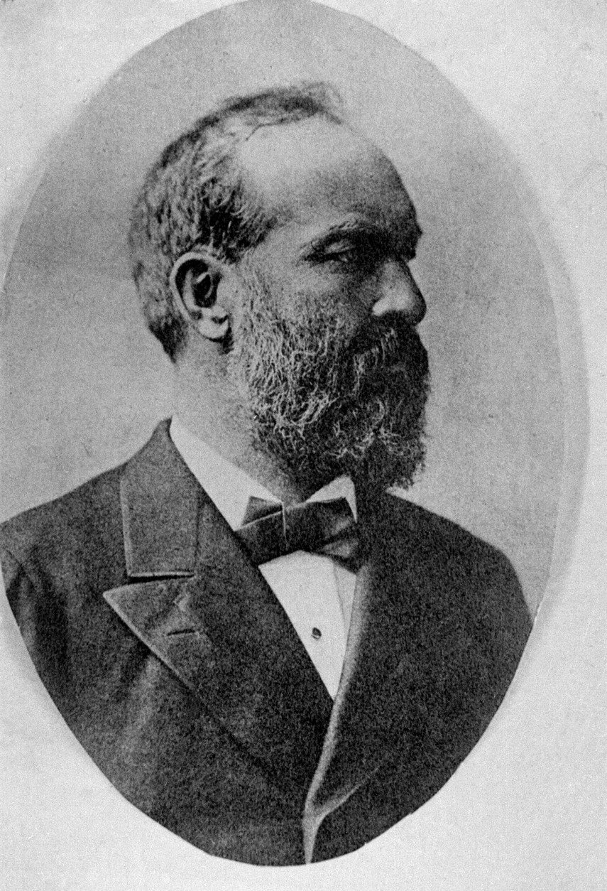 James A. Garfield, 20th United States President, is shown in this undated photograph. (AP Photo)