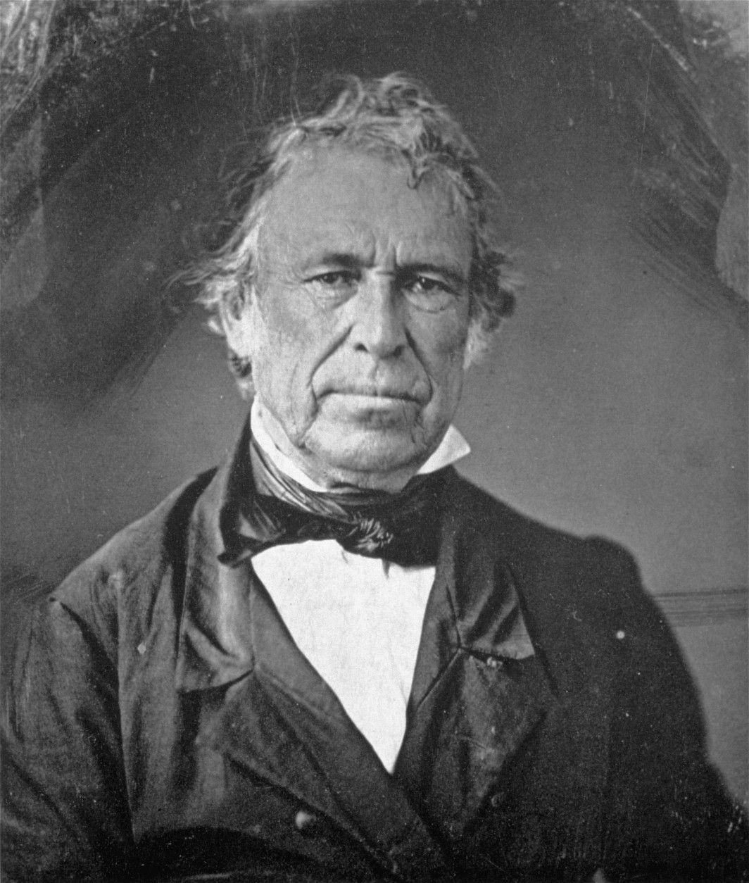 An undated portrait-daguerreotype of Zachary Taylor, the 12th president of the United States (1849-1850).  Taylor died in office, July 9, 1850.  (AP Photo/Library of Congress)