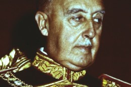 An undated photo of Generalissimo Francisco Franco of Spain. (AP Photo/fls)