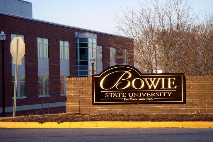 The Main Gateway Of Bowie State University. (Courtesy Wikimedia Commons/M.  Chambers)