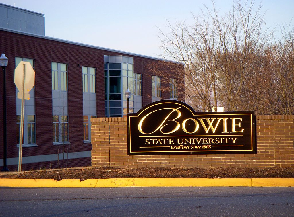 Students rally against swastika painted at Bowie State University