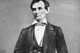 U.S. President Abraham Lincoln is shown in this undated photo.  (AP Photo)