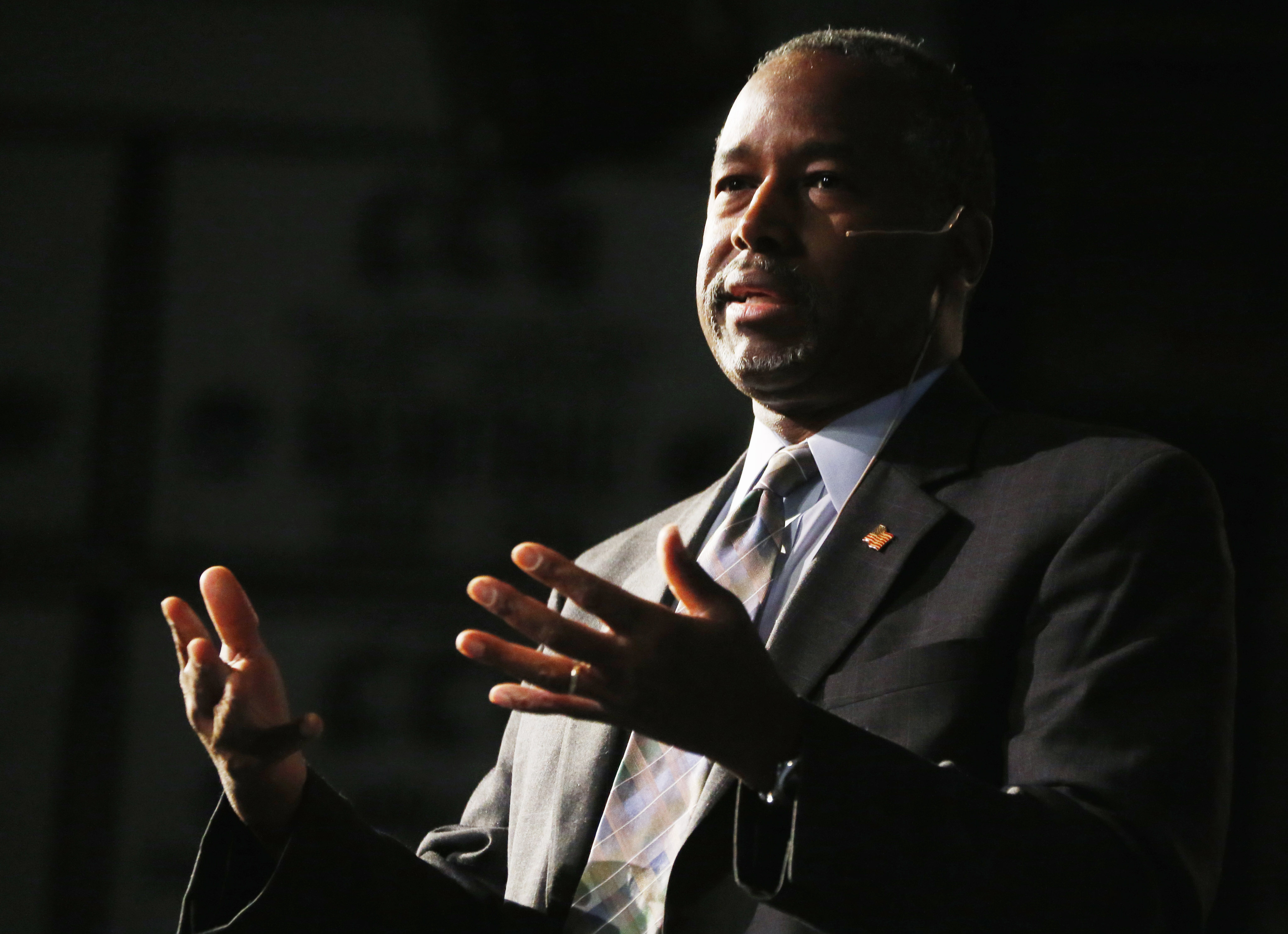 Report: GOP's Carson says he never received West Point scholarship