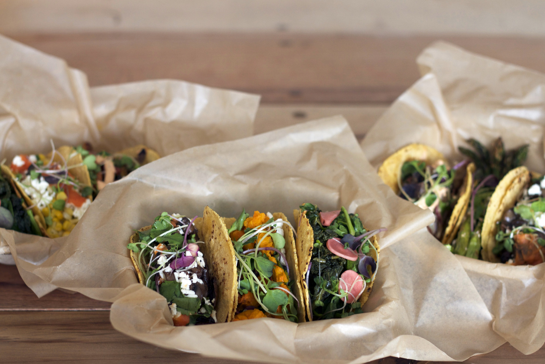 This season, D.C. is welcoming two new — and distinctly different, yet authentic — taco spots. (Courtesy Chaia)