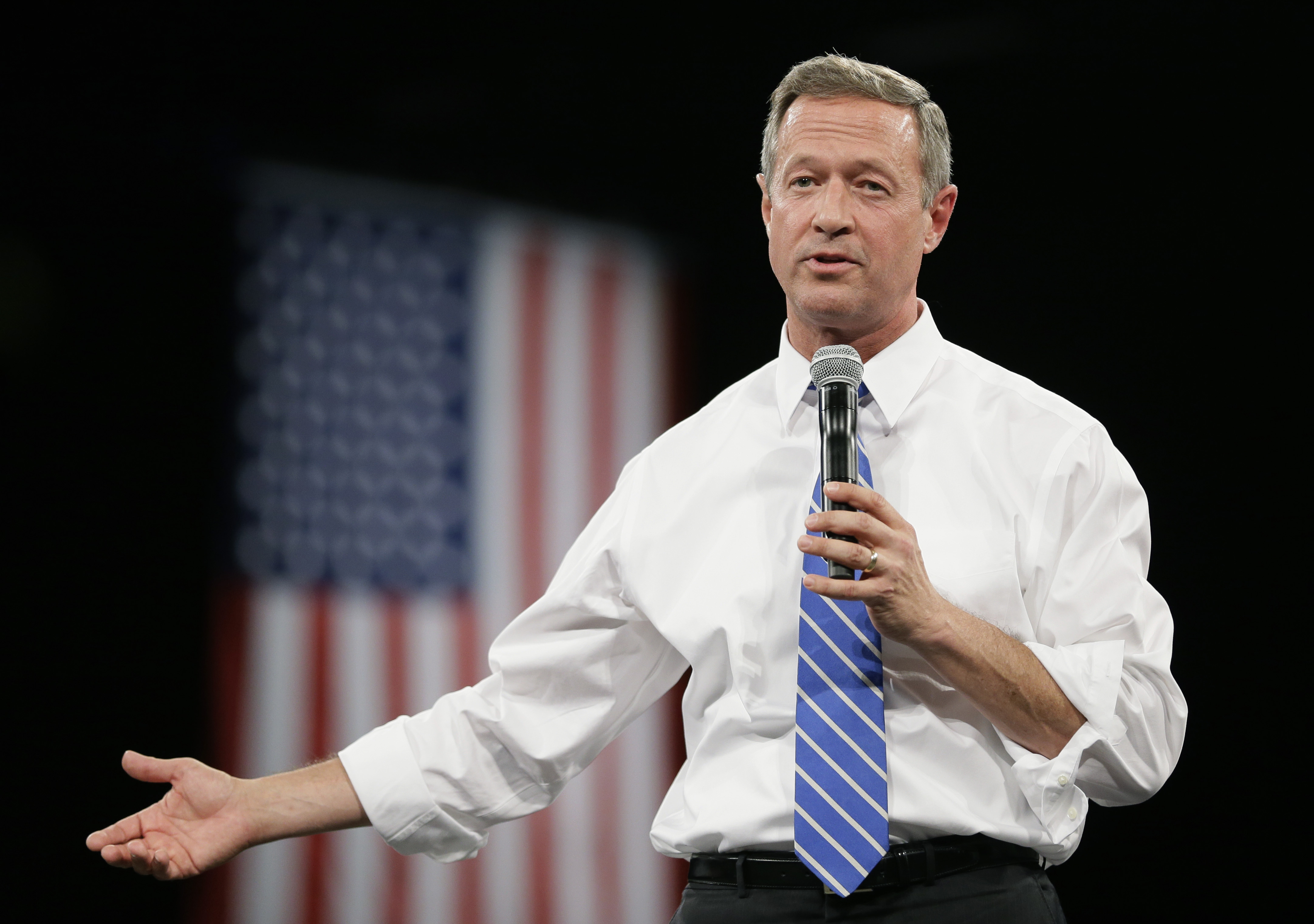 Ex-Md. governor O'Malley not running for DNC chair
