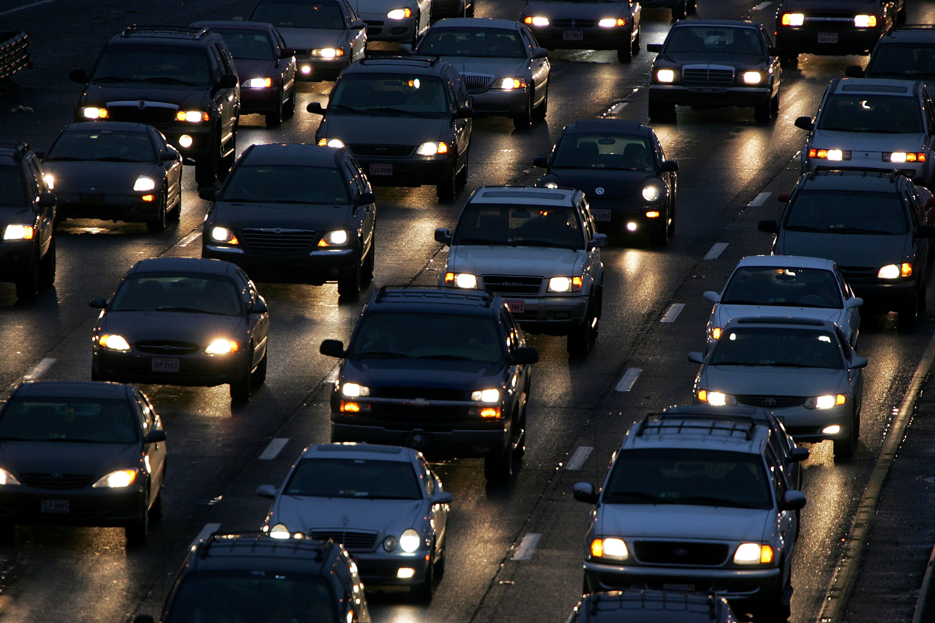 D.C. Thanksgiving traffic ranked 2nd-worst nationwide